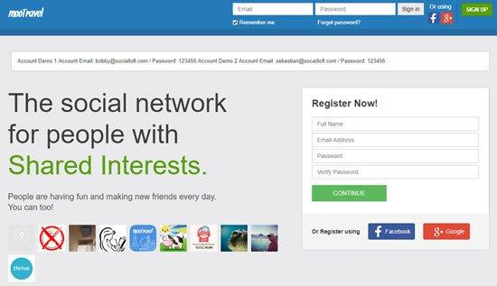 mooSocial PHP Social Network Script
