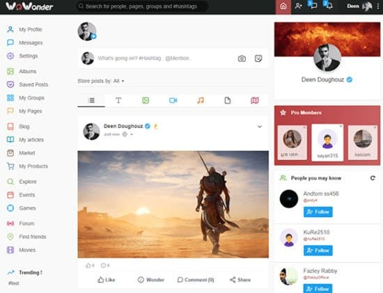 WoWonder PHP Social Network Script
