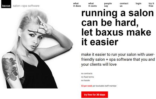 Baxus Salon Script