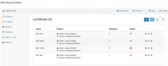 Maian Lockbox PHP Membership Script