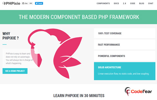PHPixie PHP Frameworks