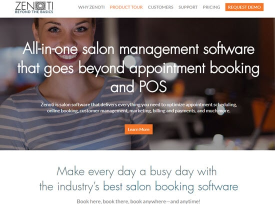 Zenoti Salon Software
